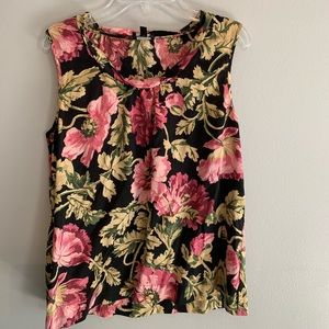 Talbots Floral Top